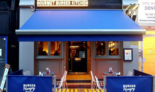 Gourmet Burger Kitchen – Londra